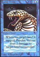 1x Psychic Venom LP, English MTG Beta