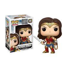 Funko Pop Justice League Wonder Woman #206 Vinyl Figure Collectible