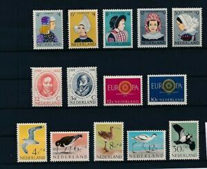 D193866(1) Netherlands 1960-1961 Nice selection of MH stamps