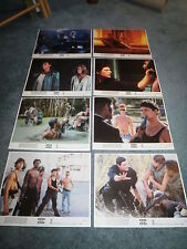 BAND OF THE HAND(1986)LAUREN HOLLY ORIGINAL COLOR STILL SET OF 8 DIFFERENT+
