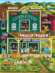 Jigsaw Puzzle Americana Old Country Store original mall 300 EZ Grip pieces NEW