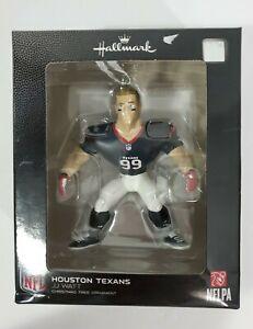 Hallmark NFL Houston Texans J J Watt Ornament Sports Football Fan Collectible