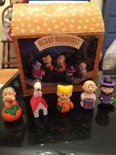 Peanuts Pumpkin Patch Merry Miniatures 5 Piece Set New