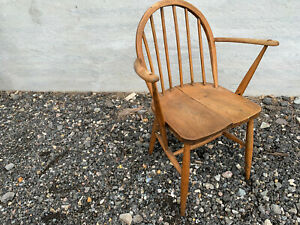 Vintage ercol stick back carver chair LBE190621C