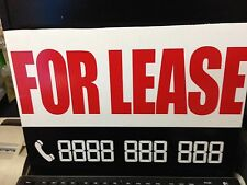 A2 FOR LEASE sign