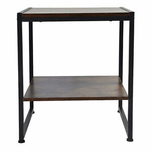 2 Layer Coffee Desk Multifunctional Tea Table Sofa Table For Home Department GDM