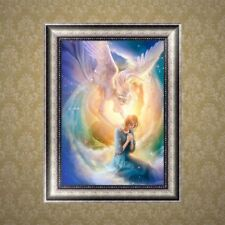 DIY 5D Angel Diamond Embroidery Painting Cross Stitch Craft Home Decoration Gift