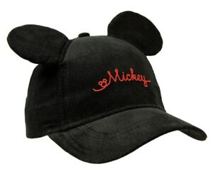 New Disney Toddler Mickey Mouse Ball Cap Hat Adjustable