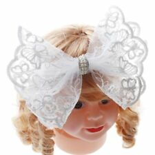 Flower Hairband Baby's Fashion Lace Hair Band Headband Headwear Bow Pearl