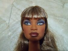 2005 Integrity Toys-Studio It-Janay-Nude Doll For Ooak-Long Hair-Sultry Makeup