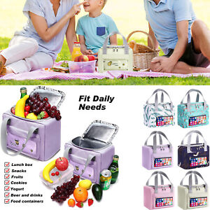 Insulated Lunch Bags for Women Reusable Lunch Food Tote Bag Box for Work Picnic