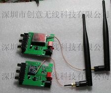 2.3G 2.4G 2.5G wireless audio and video transceiver 600 meters with two antennas