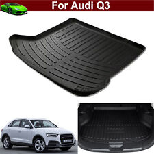 New 1pcs Leather Car Mat Trunk Cargo Liner Cargo Mat Tray For Audi Q3 2007-2017