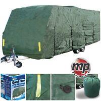 Leisurewize 19-21ft All Season Breathable Waterproof 4-Ply Green Caravan Covers