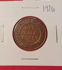 1926 Australian Half Penny coin