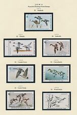 IOWA HUNTING PERMIT STAMPS 1972-1999 CV $973 BS6385