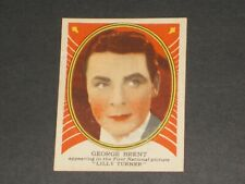 Hollywood Gum, Hamilton Gum version (V289), #9, VERY NICE CARD, GEORGE BRENT