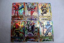 KAMEN RIDER GANBARIZING Japan ND5 CP Complete 6 Card Set DRIVE WIZARD 555 BLADE
