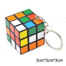 1 Pc Mini Magic Creative Cube Keychain Keyring Unisex Children Gift Puzzle Smart