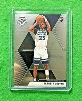 JARRETT CULVER SILVER CHROME ROOKIE CARD JERSEY#23 TIMBERWOLVES 2019-20 MOSAIC