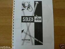 S0104 SOLEX---INSTRUCTIE BOEKJE---SOLEX-OTO-MODEL