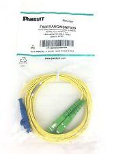 Panduit OS1/2 SINGLEMODE PATCH CORD SC-APC TO LC PUSH-PULL 9FT  F92ERANQNSNF009