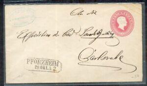 Baden Ga With Firmensiegel Postmarked (11697