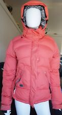 Scott Free Ride Womens Salmon Winter Coat Size M Duck Down Jacket