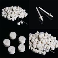 100 Filzscheibe Wolle Polierscheibe Polierköpfe Polierstift Polieren 13mm