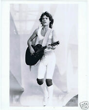 PHOTO PRESS ROLLING STONES MICK JAGGER 2 TOUR 1982
