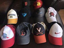 Lot of 10 Vintage trucker baseball, Mesh, Snapback, Nike, Ski, Fitted Hats