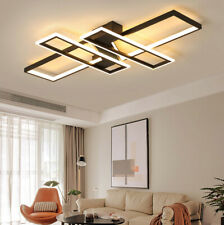 Modern Bedroom Flush Mount Ceiling Fixtures Lamp Dimmable LED Living Room Light