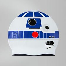 SPEEDO STAR WARS R2-D2 SWIM CAP CHILDREN KIDS 6-14 YEARS OLD SILICONE