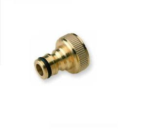 """BRASS FITTING 3/4"""" to 1/2"""" INCH GARDEN HOSE TAP WATER ADAPTOR CONNECTOR"""