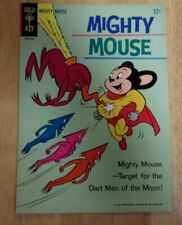 MIGHTY MOUSE #163  BEAUTIFUL VF MINUS 1965 GOLD KEY 2 FULL LENGTH STORIES
