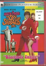 Austin Powers The Spy Who Shagged Me Mike Myers (1999) Dvd Brand New Sealed