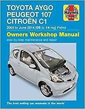 Haynes PEUGEOT 107 URBAN MOVE LITE 05-14 Owners Workshop Repair Manual Handbook