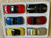Lot of 6 Maisto Die Cast 1/36 Scale Sports Luxury Cars Collection New In Box