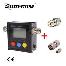 SURECOM SW-102N Digital VHF/UHF Power & SWR Meter +  FREE ADAPTOR (126683)