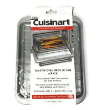 Cuisinart Chef's Classic Non-Stick Toaster Oven Broiler Pan with Rack