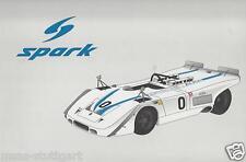 PORSCHE 917 PA SPYDER (Porsche/Audi) 1969 #0 SPARK 1:18 map02121416 NUOVO