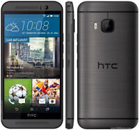"""5"""" New Original HTC One M9 - 32GB Silver / Gray (Unlocked) Android Smartphone A"""