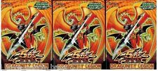 "Dragunity Legion X 3 Sealed 1st Ed Structure Decks YuGiOh English ""Out of Print"""