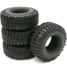 4pcs RC 1.9 Crawler Tires Mud Off-Road Tyre 108mm For 1:10 RC 1.9 Beadlock Wheel