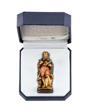 St. Luke Woodcarving - by LEPI -  Beautifully Hand Painted with Hard Case