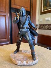 Star Wars Premier Collection Mandalorian MK 3 Statue 1:7 scale  -  in stock.