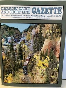 Narrow Gauge And Short Line Gazette Magazine, 6 issues 2008