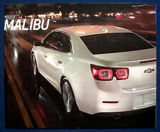 Prospekt brochure 2013 Chevrolet Chevy Malibu (USA)