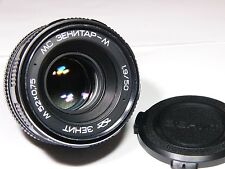Zenitar-M MC 1.9/50mm #92012022 For all Cameras with M42 Mount or other SLR/DSLR