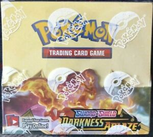 Pokemon DARKNESS ABLAZE Original Display Box 36 booster pack Sealed / charizard